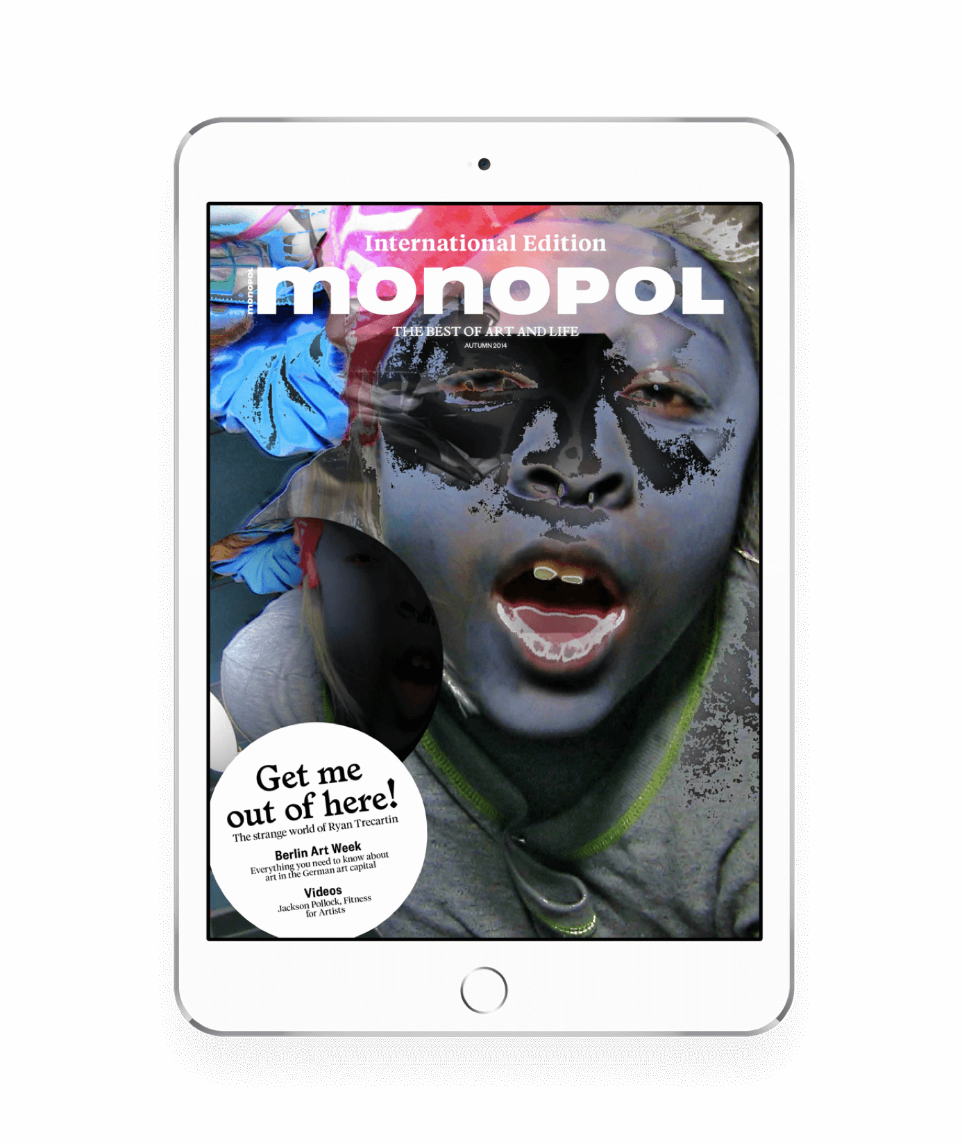 Screenshot of Monopol project